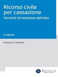 Ricorso civile per cassazione - Librerie.coop