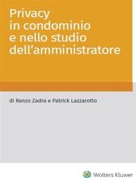 Privacy in condominio e nello studio dell'amministratore - Librerie.coop