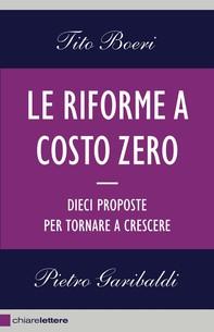 Le riforme a costo zero - Librerie.coop