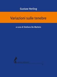 Variazioni sulle tenebre - Librerie.coop