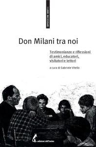 Don Milani tra noi - Librerie.coop