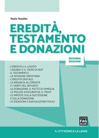 Eredità, testamento e donazioni - Librerie.coop