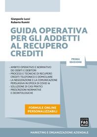 Guida operativa per gli addetti al recupero crediti - Librerie.coop
