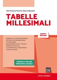 Tabelle millesimali - Librerie.coop