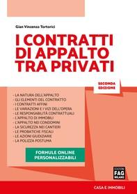 Contratti di appalto tra privati - Librerie.coop