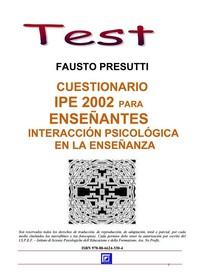 Cuestionario IPE 2002 Para Ensenantes  - Librerie.coop
