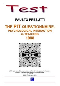The PIT Questionnaire for Teachers and Students - Librerie.coop