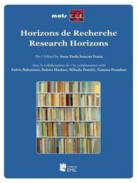 Horizons de Recherche - Research Horizons1 - Librerie.coop