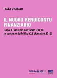 Il nuovo rendiconto finanziario - Librerie.coop