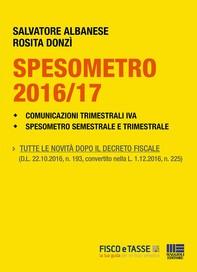 Spesometro 2016/2017 e Comunicazioni Iva - Librerie.coop