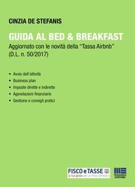 Guida al Bed & Breakfast - Librerie.coop