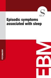 Episodic Symptoms Associated with Sleep - Librerie.coop