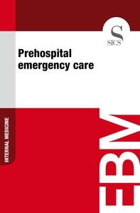 Prehospital Emergency Care - Librerie.coop
