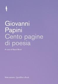 Cento pagine di poesia - Librerie.coop