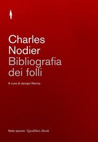 Bibliografia dei folli - Librerie.coop