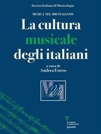 La cultura musicale degli italiani - Librerie.coop