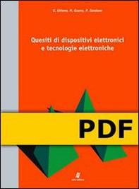 Quesiti di dispositivi elettronici e tecnologie elettroniche - Librerie.coop