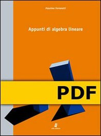 Appunti di algebra lineare - Librerie.coop