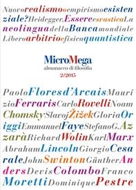 Micromega: 2 Almanacco di filosofia - Librerie.coop