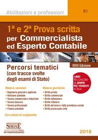 Prima e seconda Prova scritta per Commercialista ed Esperto Contabile - Librerie.coop