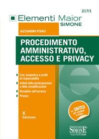 Procedimento Amministrativo, Accesso e Privacy - Librerie.coop