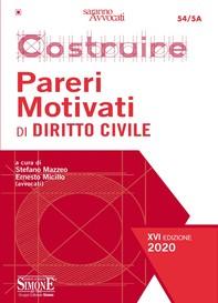 Costruire Pareri Motivati di Diritto Civile - Librerie.coop
