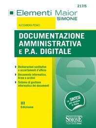 Documentazione Amministrativa e P.A. digitale - Librerie.coop