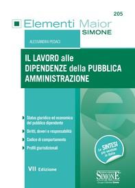 Il lavoro alle dipendenze della Pubblica Amministrazione - Librerie.coop