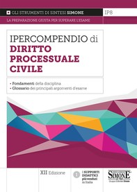 Ipercompendio Diritto Processuale Civile - Librerie.coop