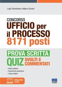 Concorso Ufficio per il processo 8171 posti - Prova scritta - Librerie.coop