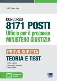 8171 POSTI Ufficio per il processo MINISTERO GIUSTIZIA - Librerie.coop