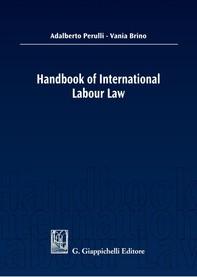 Handbook of International Labour Law - Librerie.coop