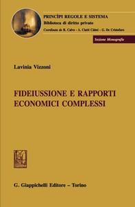 Fideiussione e rapporti economici complessi - Librerie.coop