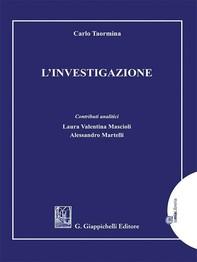 L'investigazione - e-Book - Librerie.coop