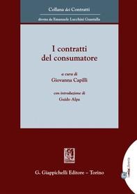 I contratti del consumatore - e-Book - Librerie.coop