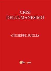 Crisi dell'Umanesimo - Librerie.coop