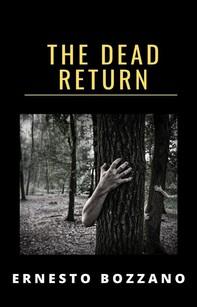 The dead return (translated) - Librerie.coop