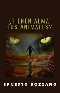 ¿Tienen alma los animales? (traducido) - Librerie.coop
