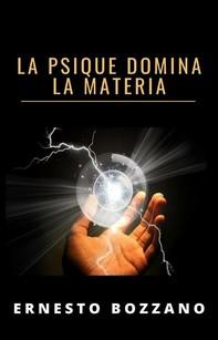 La psique domina la materia (traducido) - Librerie.coop