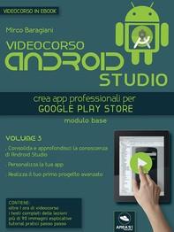 Videocorso Android Studio. Volume 3 - Librerie.coop