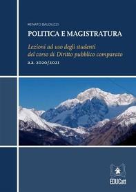 Politica e magistratura - Librerie.coop