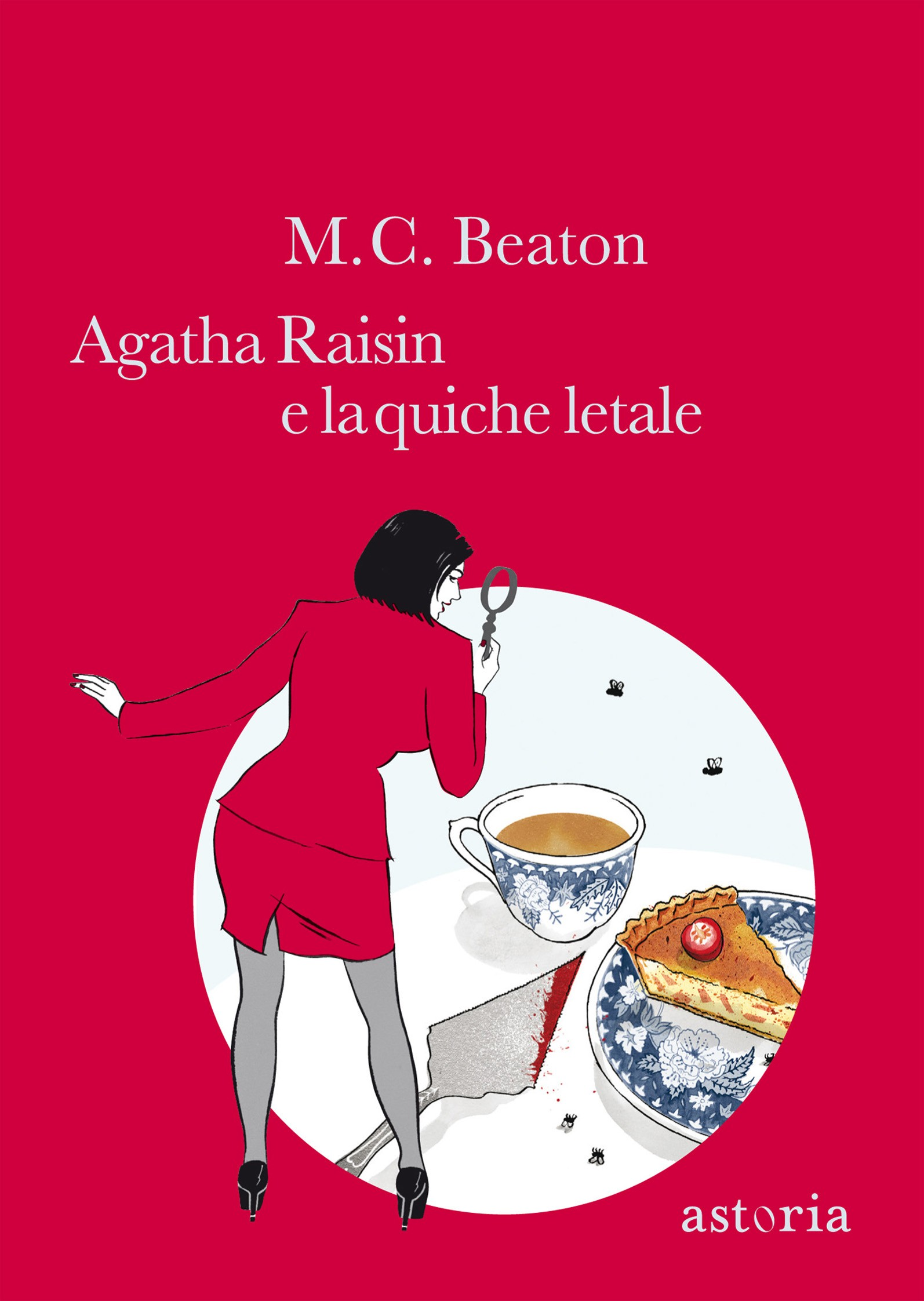 Agatha Raisin e la quiche letale Book Cover