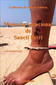 Memoria vacacional de Sancti Petri - Librerie.coop