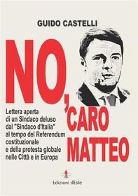 No, caro Matteo - Librerie.coop