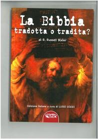 La Bibbia tradotta o tradita? - Librerie.coop
