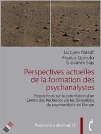 Perspectives actuelles de la formation des psychanalystes - Librerie.coop