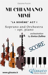 Mi chiamano Mimì - soprano and orchestra (Score) - Librerie.coop