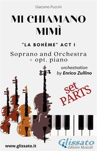 Mi chiamano Mimì - soprano and orchestra (Parts) - Librerie.coop