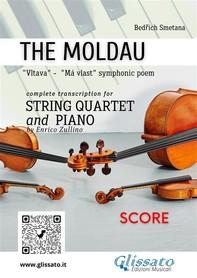 The Moldau - String Quartet and Piano (score) - Librerie.coop