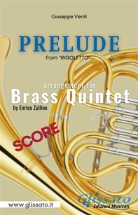 Prelude (Rigoletto) - Brass Quintet - score - Librerie.coop